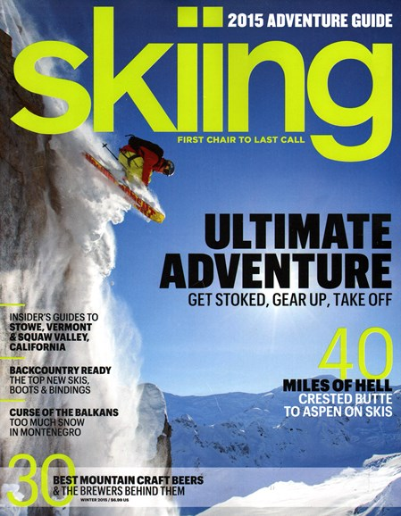 Skiing Cover - 1/1/2015