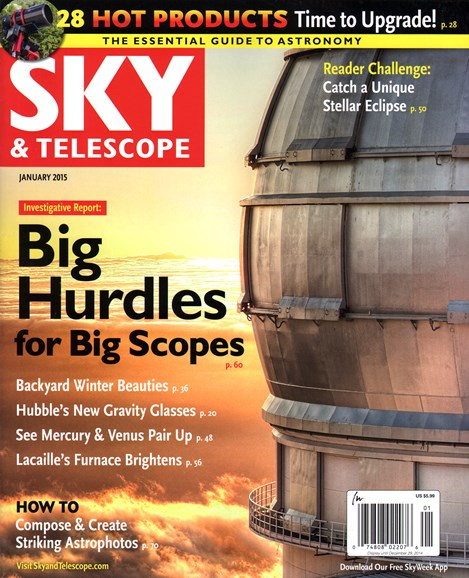 Sky & Telescope Cover - 1/1/2015