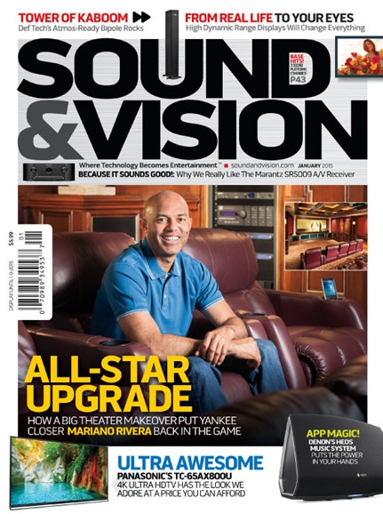 Sound & Vision Cover - 1/1/2015