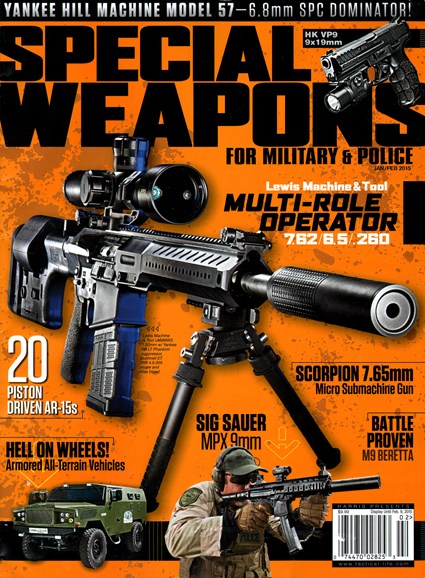 Special Weapons for Military & Police Cover - 1/1/2015