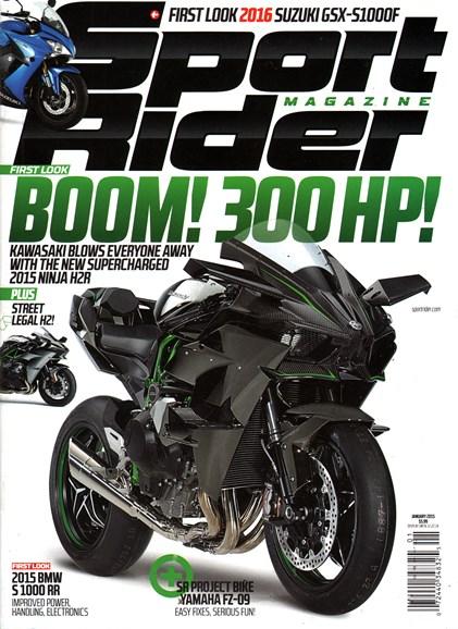 Sport Rider Cover - 1/1/2015
