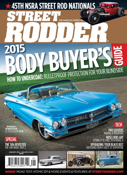 Street Rodder Cover - 1/1/2015