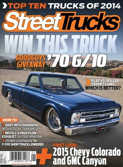 Street Trucks Cover - 1/1/2015