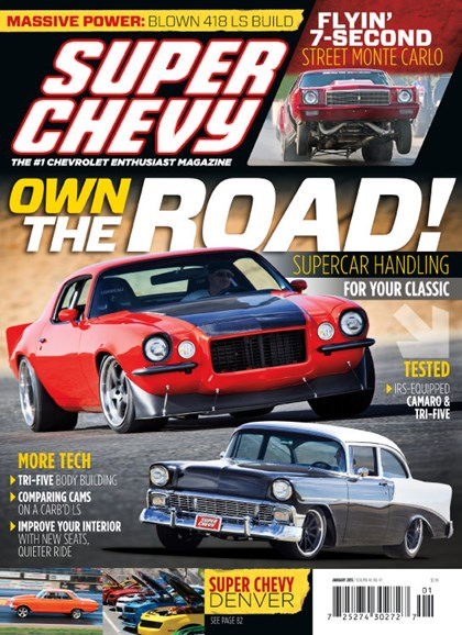 Super Chevy Cover - 1/1/2015