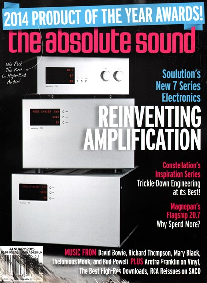 The Absolute Sound Cover - 1/1/2015