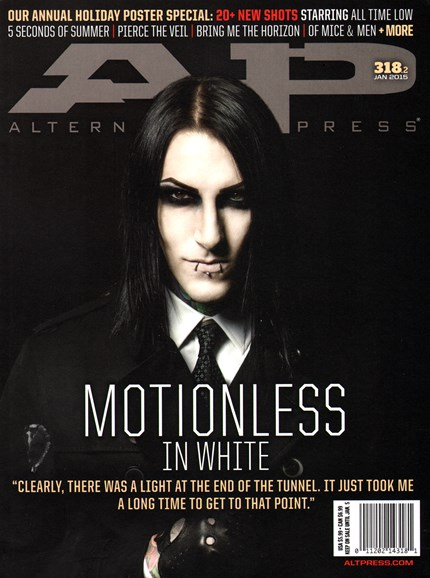 Alternative Press Cover - 1/1/2015