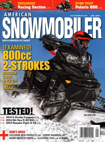 American Snowmobiler Cover - 1/1/2015