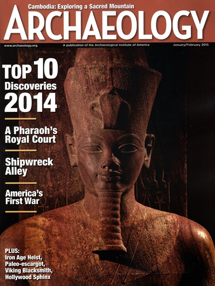 Archaeology Cover - 1/1/2015