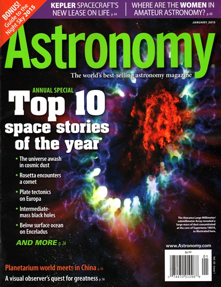 Astronomy Cover - 1/1/2015