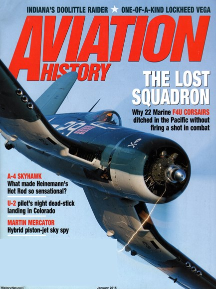 Aviation History Cover - 1/1/2015