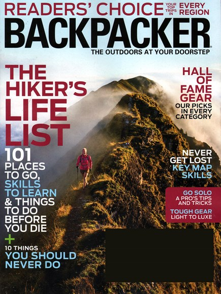 Backpacker Cover - 1/1/2015