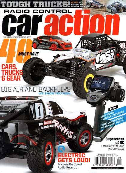 Radio Control Car Action Cover - 1/1/2015