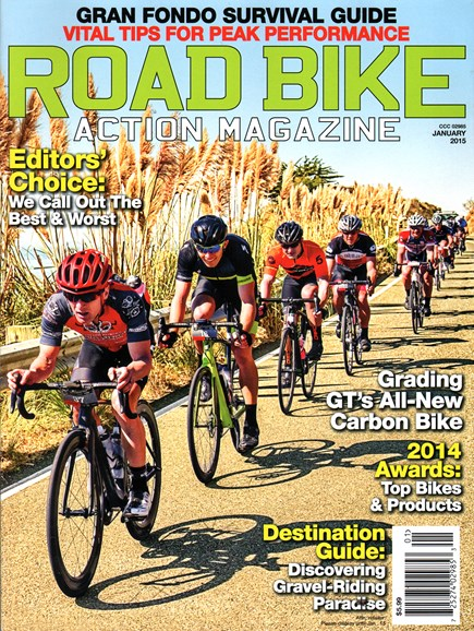 Road Bike Action Cover - 1/1/2015