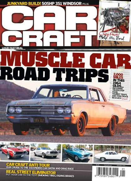 Car Craft Cover - 1/1/2015