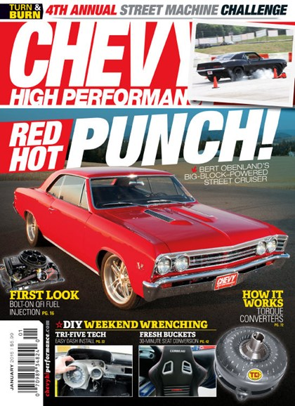 Chevy High Performance Cover - 1/1/2015