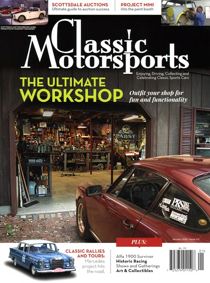 Classic Motorsports Cover - 1/1/2015