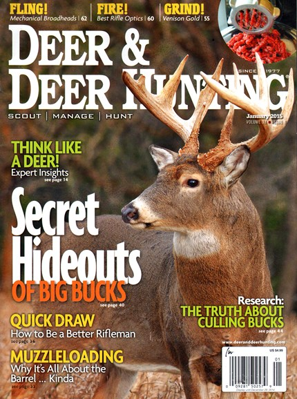 Deer & Deer Hunting Cover - 1/1/2015
