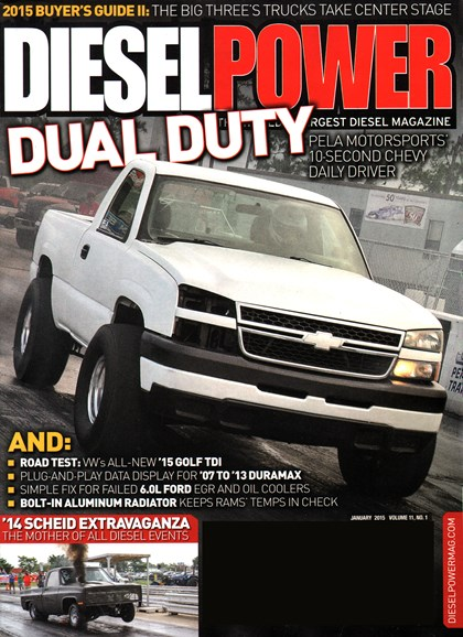 Diesel Power Cover - 1/1/2015