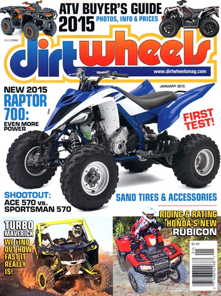 Dirt Wheels Cover - 1/1/2015