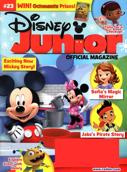 Disney Junior Cover - 1/1/2015