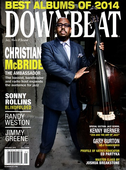 DownBeat Cover - 1/1/2015