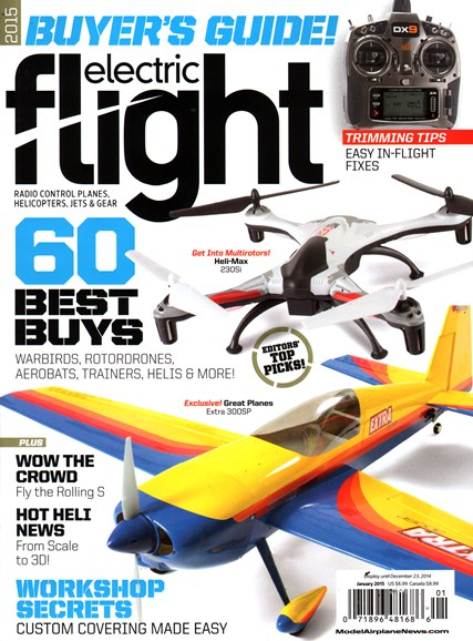 Electric Flight Cover - 1/1/2015