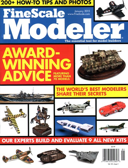 Finescale Modeler Cover - 1/1/2015