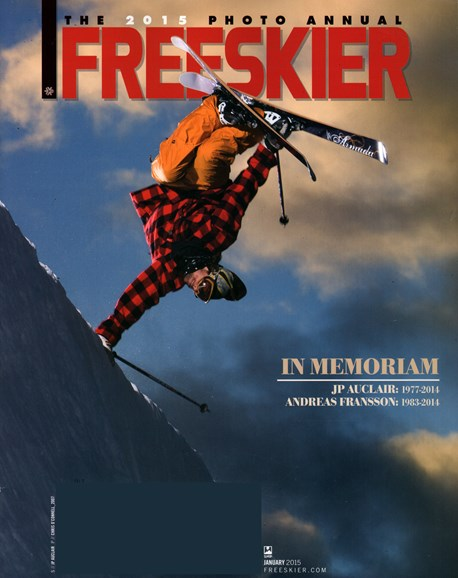 Freeskier Cover - 1/1/2015