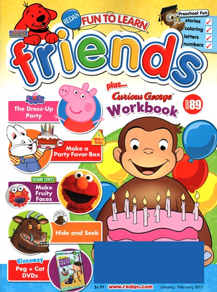 Preschool Friends Cover - 1/1/2015