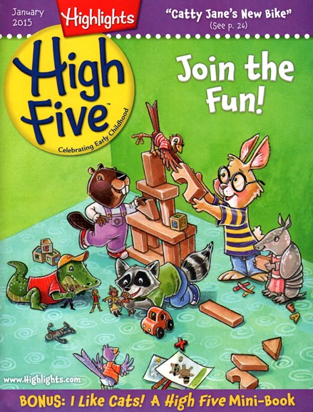 Highlights High Five Cover - 1/1/2015