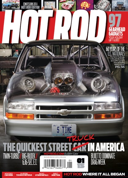 Hot Rod Cover - 1/1/2015