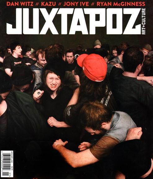 Juxtapoz Cover - 1/1/2015