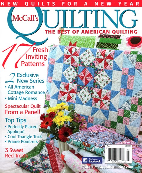 McCall's Quilting Cover - 1/1/2015