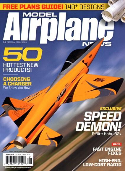 Model Airplane News Cover - 1/1/2015
