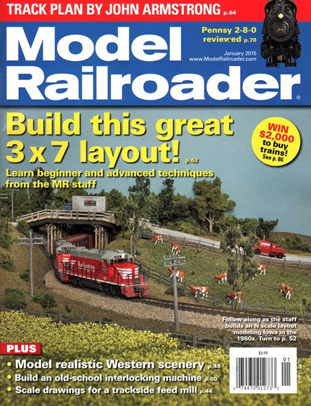Model Railroader Cover - 1/1/2015