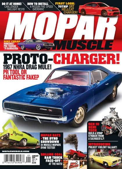 Mopar Muscle Cover - 1/1/2015