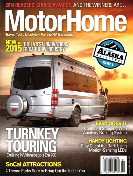 MotorHome Cover - 1/1/2015