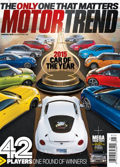 Motor Trend Cover - 1/1/2015
