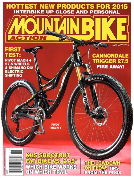 Mountain Bike Action Cover - 1/1/2015