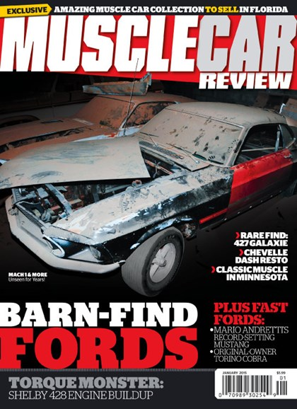 Muscle Car Review Cover - 1/1/2015