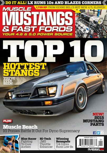 Muscle Mustangs & Fast Fords Cover - 1/1/2015