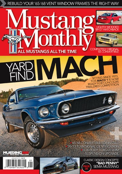 Mustang Monthly Cover - 1/1/2015