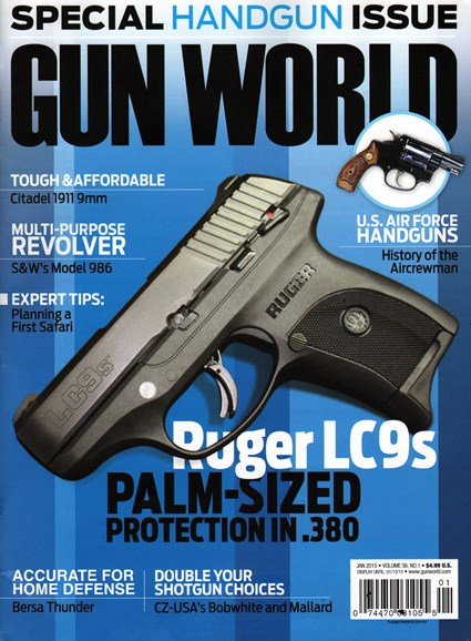 Gun World Cover - 1/1/2015