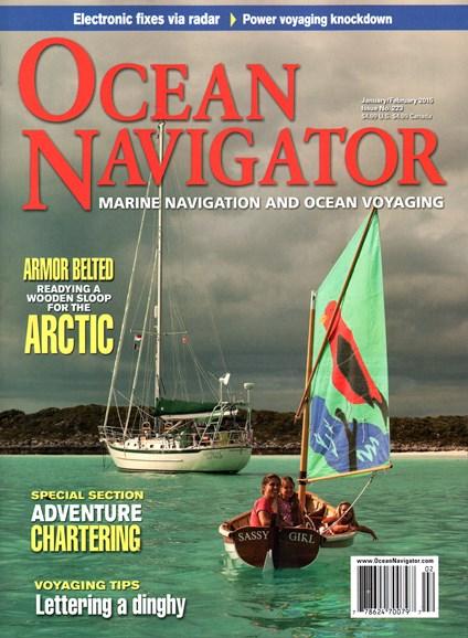 Ocean Navigator Cover - 1/1/2015