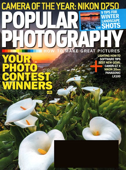 Popular Photography Cover - 1/1/2015
