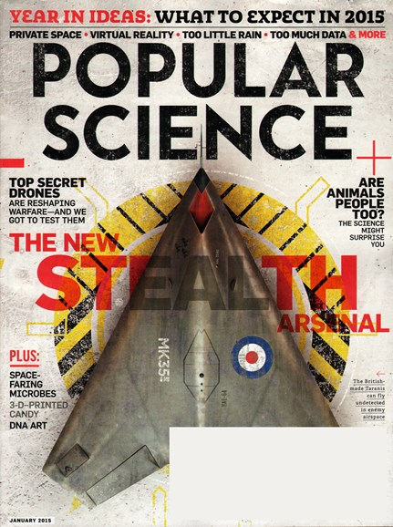 Popular Science Cover - 1/1/2015