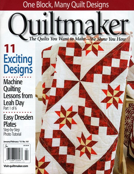 Quiltmaker Cover - 1/1/2015