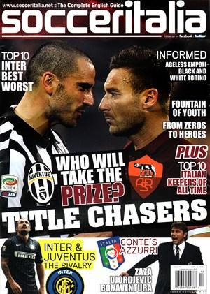 Soccer Italia Magazine | 12/1/2014 Cover