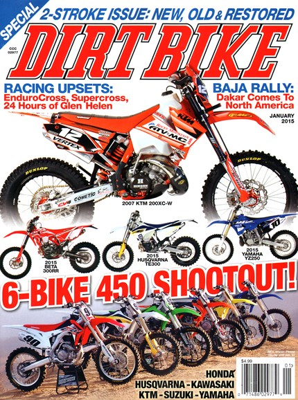 Dirt Bike Cover - 1/1/2015