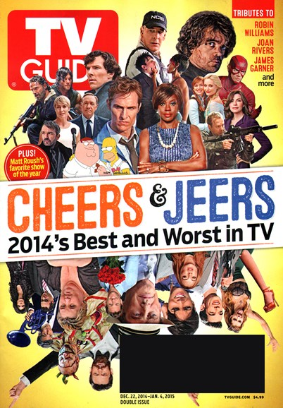 TV Guide Cover - 12/22/2014